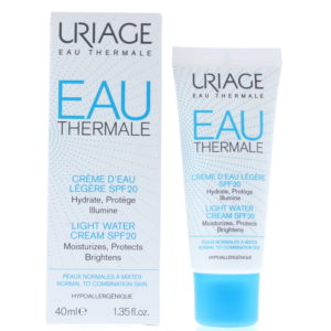 Uriage Eau Thermale Light Water Spf 20 Normal To Combination Skin Cream 40ml