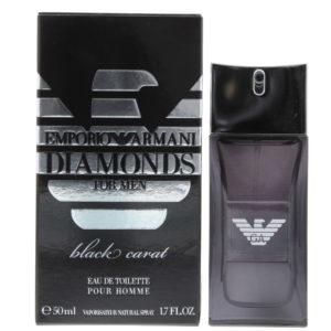 Emporio Armani Diamonds For Men Black Carat Eau de Toilette 50ml
