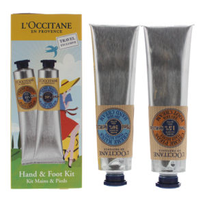 L'occitane 2 Piece Gift Set: Hand Cream 75ml - Foot Cream 75ml