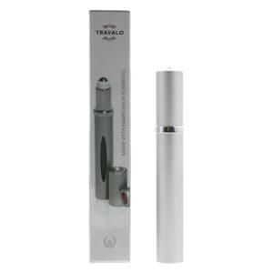 Travalo Touch Swarovski Silver Refillable Perfume Rollerball
