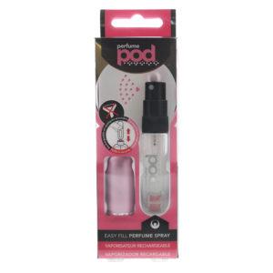 Travalo Perfume Pod Pink Refillable Perfume Spray Bottle