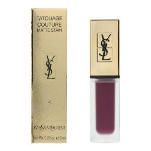 Yves Saint Laurent Tatouage Couture N4 Purple Identity Liquid Lipstick 6ml