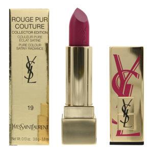 Yves Saint Laurent Rouge Pur Couture #19 Le Fuchsia - Fuchsia Edition Lipstick 3.8ml