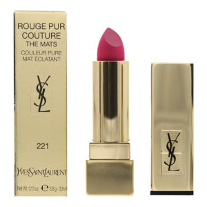 Yves Saint Laurent Rouge Pur Couture The Mats #221 Rose Ink Lipstick 3.8ml