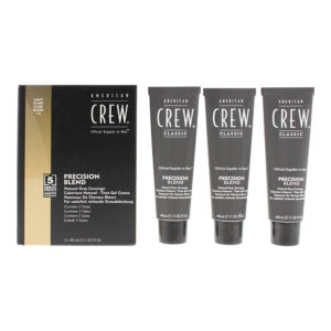 American Crew Precsion Blend Light Hair Colour 3 x 40ml