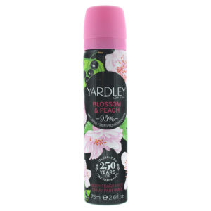 Yardley Blossom and Peach Body Spray 75ml