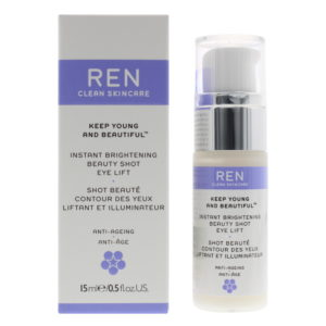 Ren Keep Young And Beautiful Instant Brightening Beauty Shot Eye Lift Eye Serum 15ml