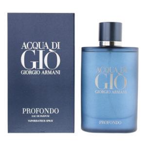 Giorgio Armani Acqua Di Giò Profondo Eau De Parfum 125ml
