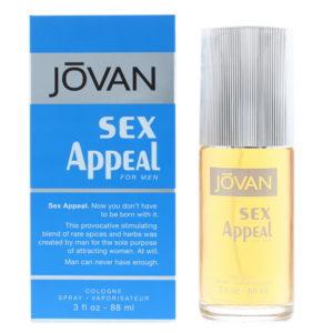 Jovan Sex Appeal Eau de Cologne 88ml