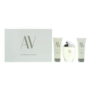 Adrienne Vittadini Av Eau De Parfum 3 Piece Gift Set: Eau De Parfum 90ml - Body Lotion 100ml - Shower Gel 100ml
